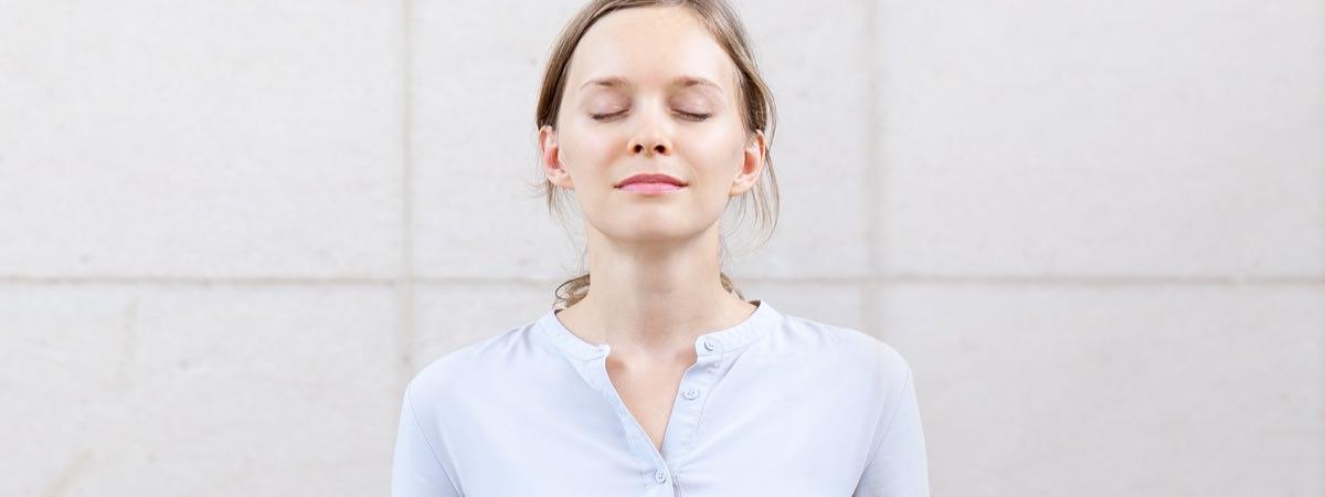 aria exercice de respiration avant une prise de parole pendant enterrement obseques