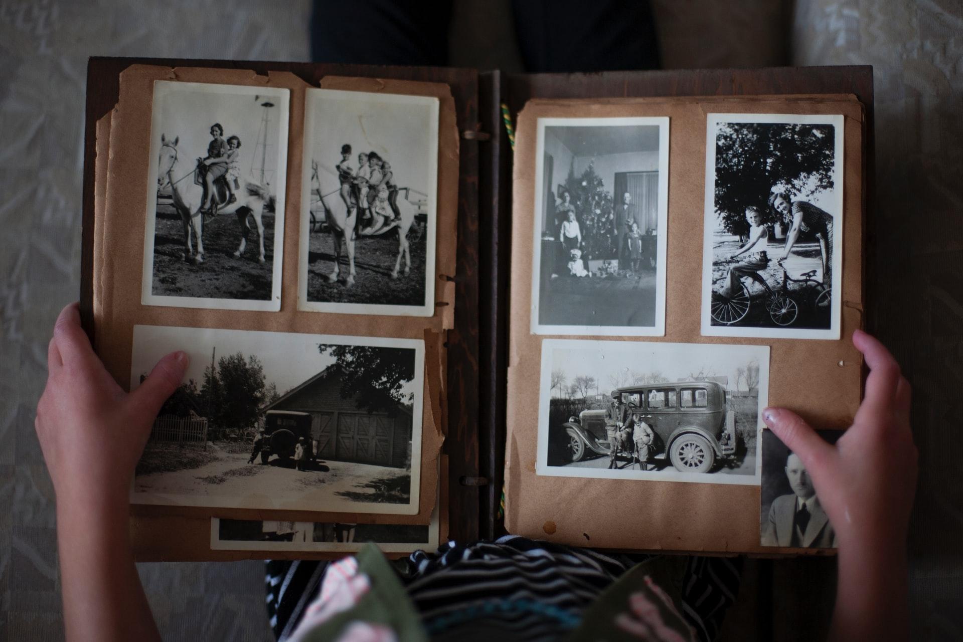 photos souvenirs defunt obseques enterrement